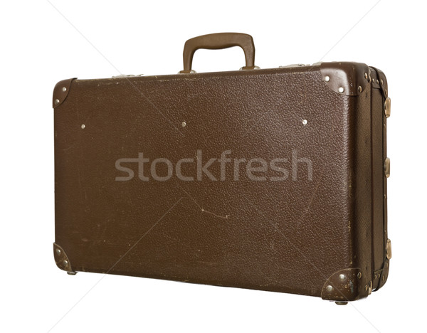 Worn down suitcase Stock photo © gemenacom