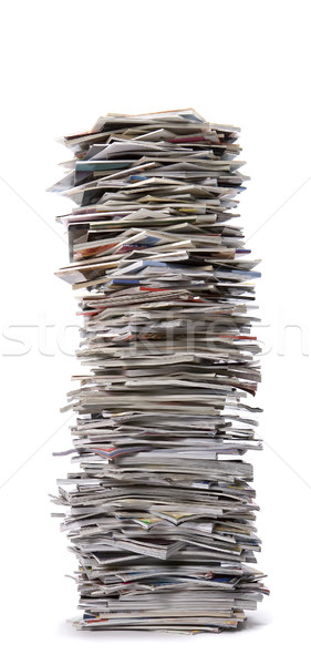 Stack of Magazines Stock photo © gemenacom