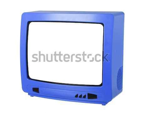 Blue TV Stock photo © gemenacom