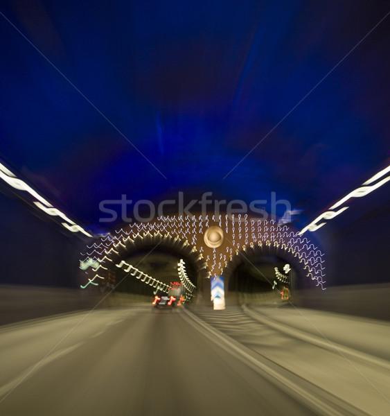 Traffic in tunnel Stock photo © gemenacom