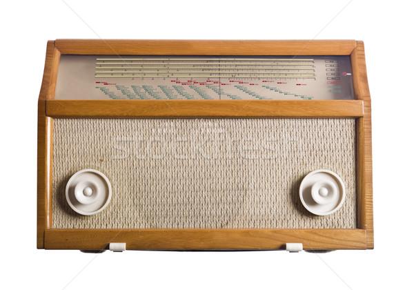 Vintage Radio Stock photo © gemenacom