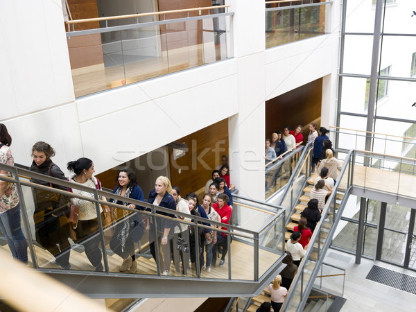 Stock photo: People waiting in line