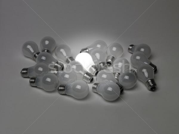 Pile of light bulbs Stock photo © gemenacom