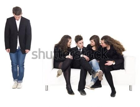 Young man rejected Stock photo © gemenacom