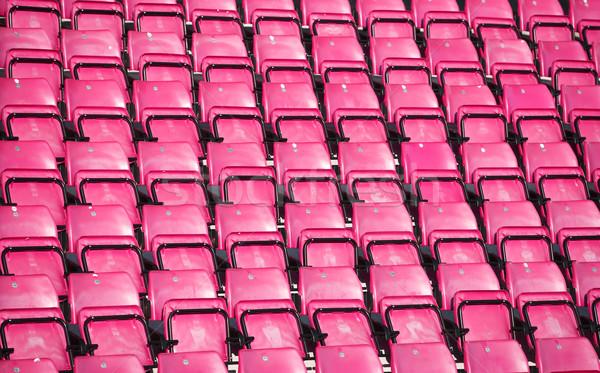 Spectators seats at a stadium Stock photo © gemenacom