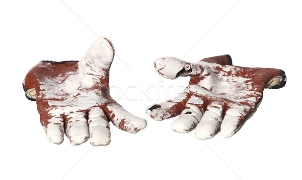Pair of Protective gloves Stock photo © gemenacom