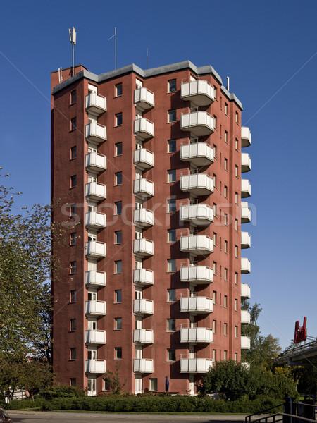 Apartment complex Stock photo © gemenacom