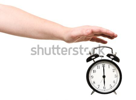 Turning of the Alarm Clock Stock photo © gemenacom