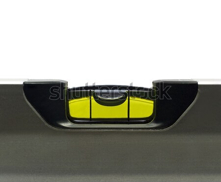 Сток-фото: инструмент · измерение · изолированный · белый · зеленый · баланса