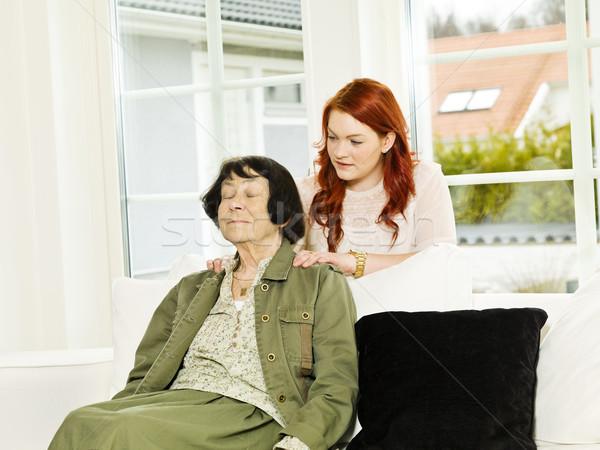 Massage situation Stock photo © gemenacom