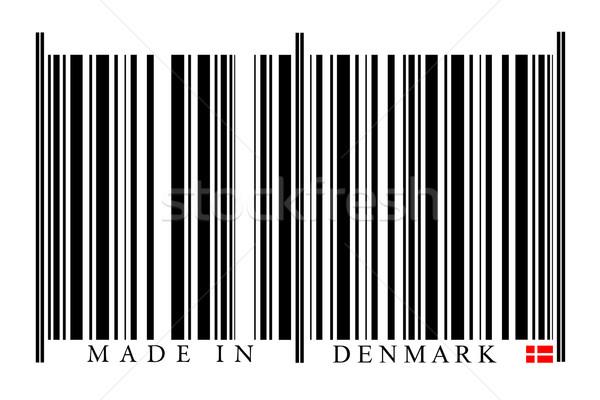 Denemarken barcode witte technologie zwarte markt Stockfoto © gemenacom