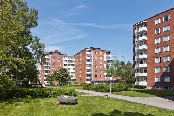 Apartment Buildings Stock photo © gemenacom
