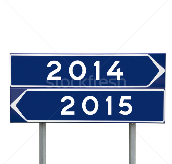 2014 or 2015 Stock photo © gemenacom