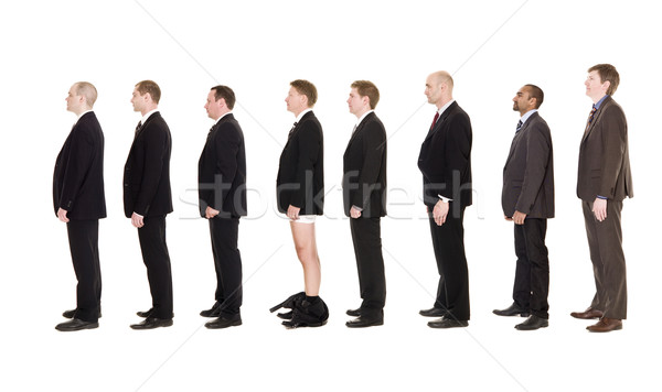 Man with his pants down Stock photo © gemenacom