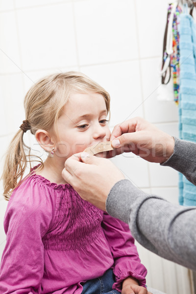 Band-Aid on mouth Stock photo © gemenacom