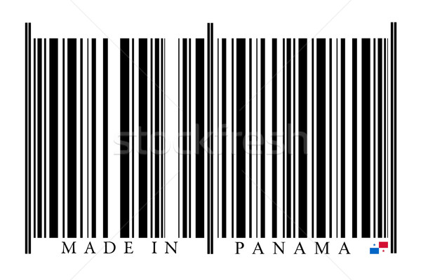 Panama Barcode Stock photo © gemenacom