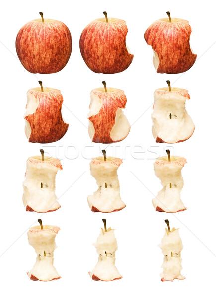 Red Apple Time Lapse Stock photo © gemenacom