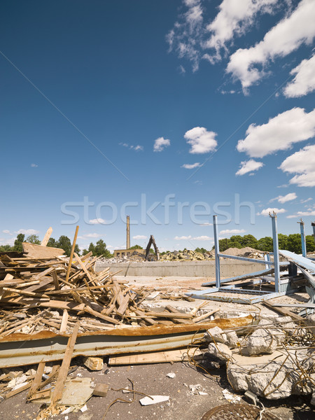 Demolished Neighbourhood Stock photo © gemenacom