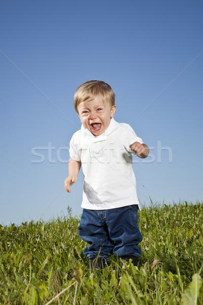 Crying Boy Stock photo © gemenacom