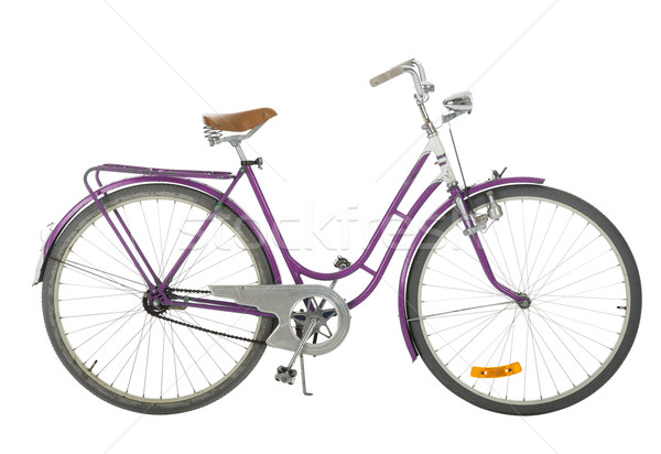Pink Old fashioned bicycle Stock photo © gemenacom