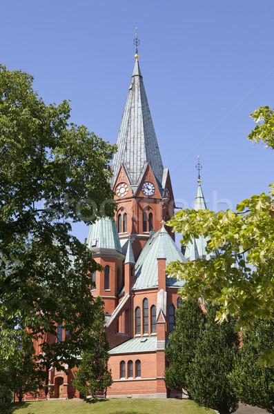 Church tower Stock photo © gemenacom