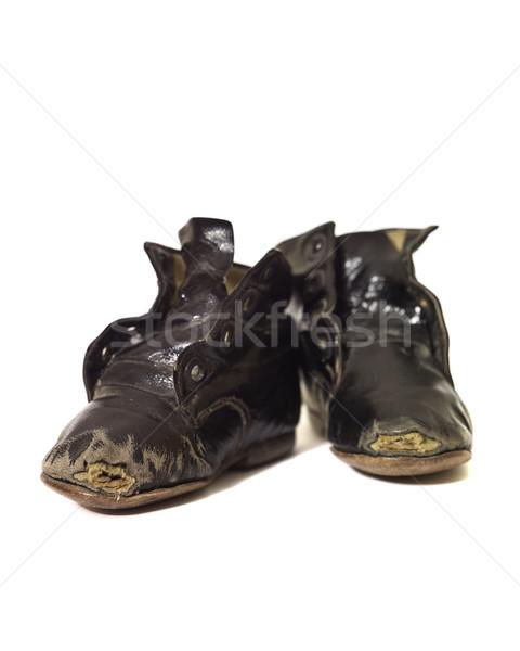 Worn vintage shoes Stock photo © gemenacom
