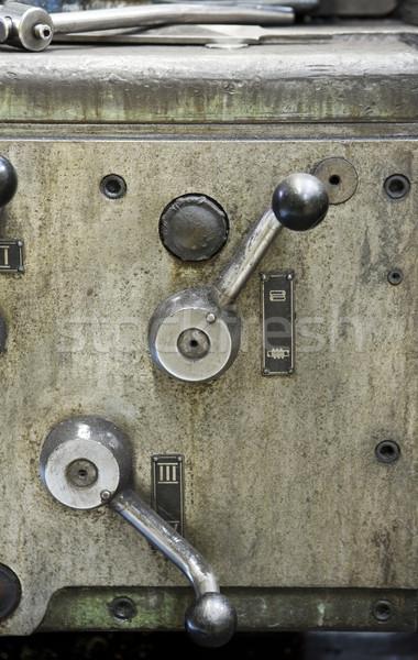Vintage machine Stock photo © gemenacom