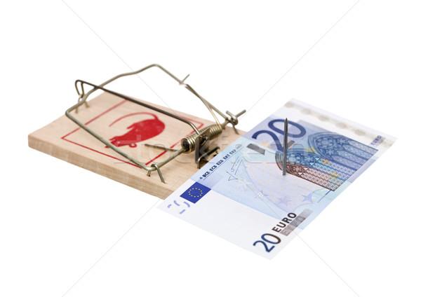 Mousetrap with money Stock photo © gemenacom