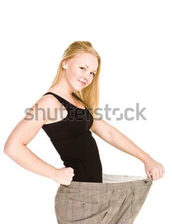 Lost a lot of weight Stock photo © gemenacom