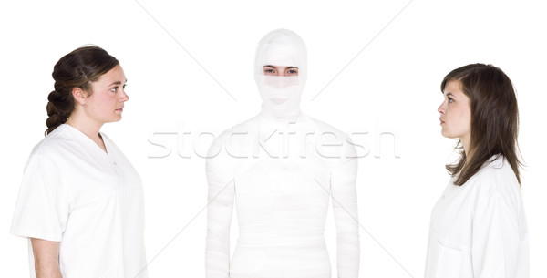 Nurses and patient Stock photo © gemenacom