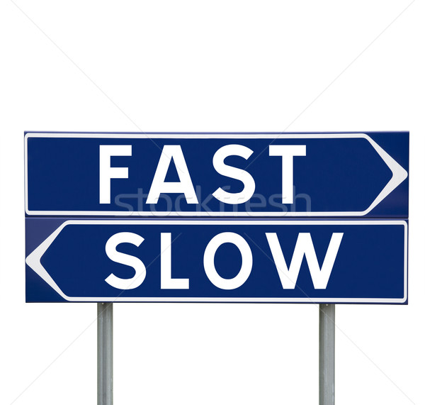 Fast or slow Stock photo © gemenacom
