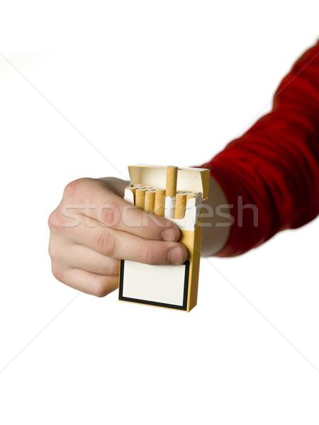 Holding Cigarettes Stock photo © gemenacom