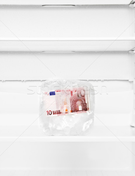 Frozen money Stock photo © gemenacom