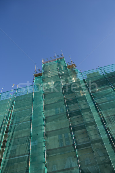 Ver construção abstrato trabalhando Foto stock © gemenacom