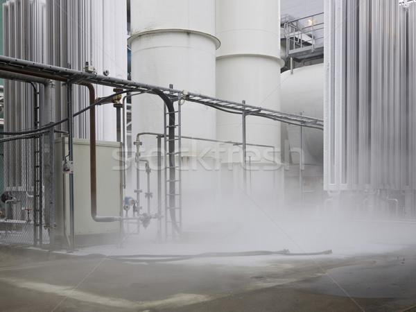 Misty industry complex Stock photo © gemenacom