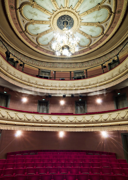 Luxurious theather hall Stock photo © gemenacom