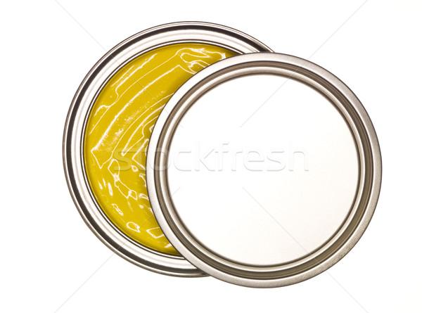 Yellow Paint can Stock photo © gemenacom