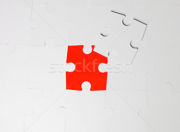 Uncompleted puzzle Stock photo © gemenacom