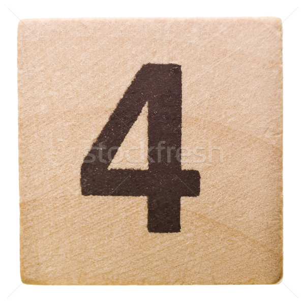 Number four Stock photo © gemenacom