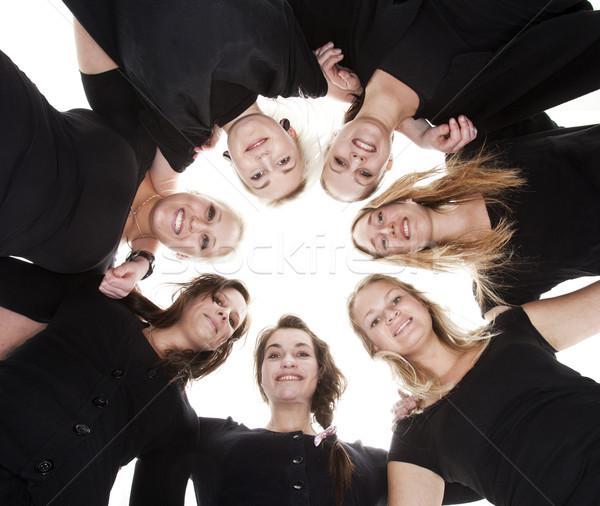 Group of Young Women Stock photo © gemenacom