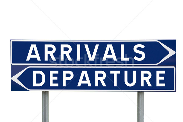 Arrivals or Departure Stock photo © gemenacom