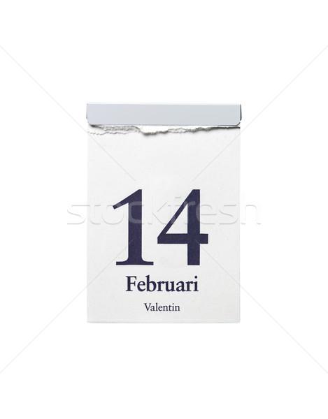 14 witte studio witte achtergrond jaar stilleven Stockfoto © gemenacom