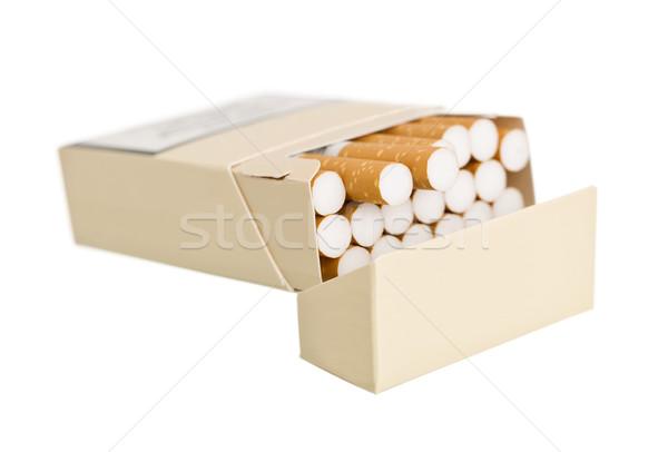 Pack of cigarettes Stock photo © gemenacom