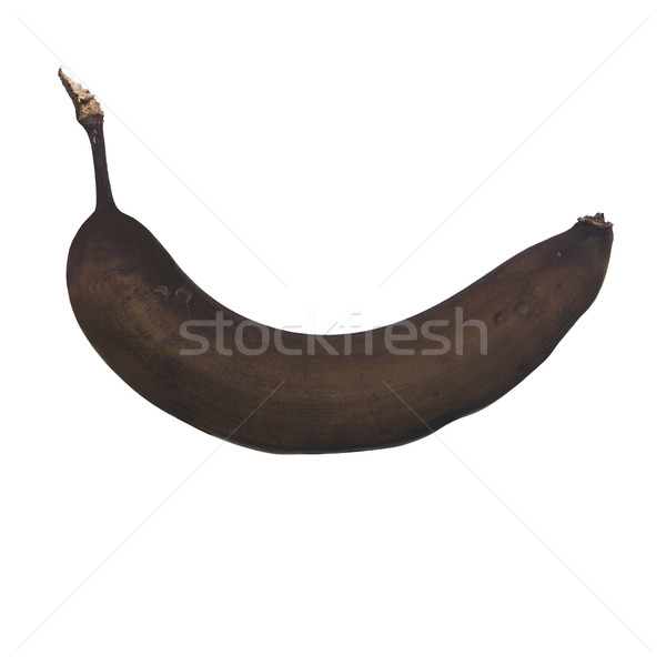 Banana gone bad against a white background. Stock photo © gemenacom