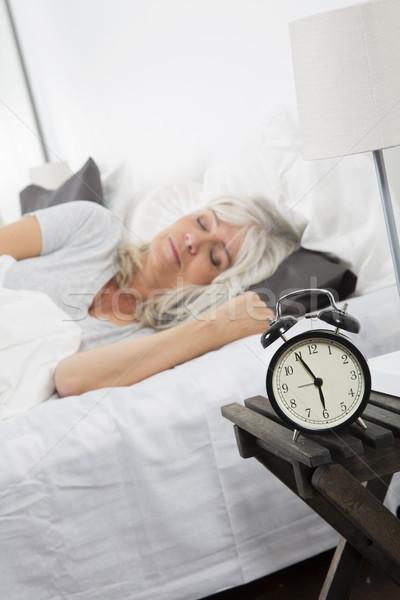 Sleeping woman Stock photo © gemenacom
