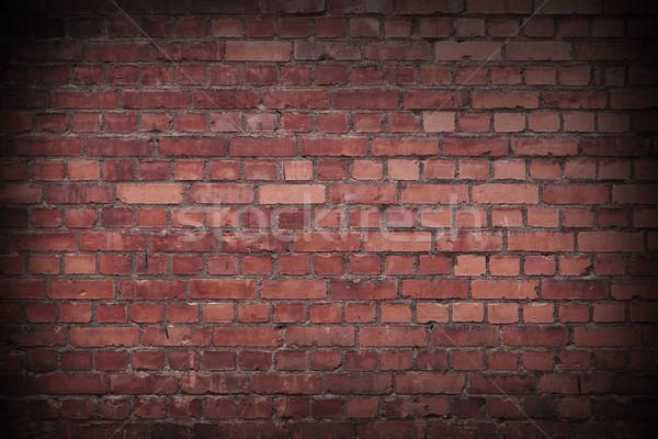 Red Brickwall Stock photo © gemenacom