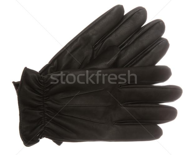 黒手袋 白 黒 クリスマス 服 ペア ストックフォト © gemenacom
