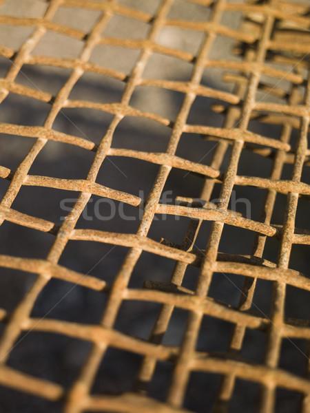 rusty metal net Stock photo © gemenacom