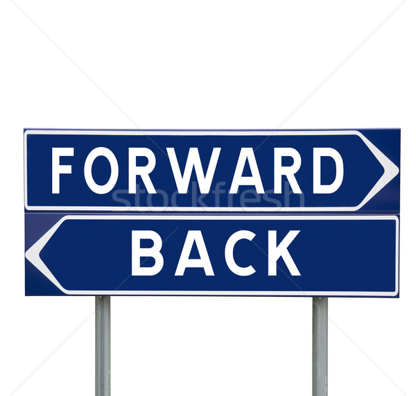Forward or Back Stock photo © gemenacom