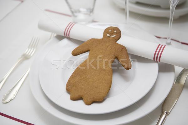 Lebkuchen figur dekoration tabelle essen mond for Dekoration essen